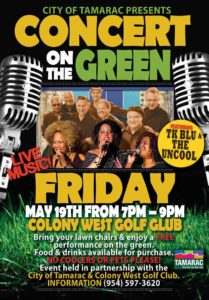Concert On The Green In Tamarac @ Colony West Golf Club | Pompano Beach | Florida | United States